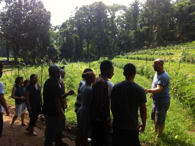 Farm Tour at Purdy's farmer & the fish