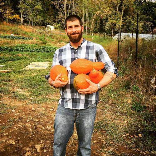 Young Billy pumpkins